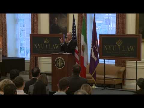 18th Annual David R. Tillinghast Lecture on International Taxation: Francisco Gil Diaz