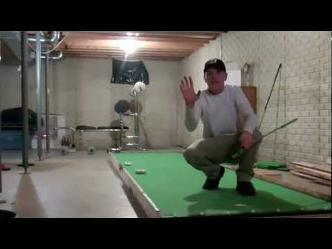 Jeremiah's Basement  Putting Green