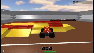 roblox monster jam iron man frestyle