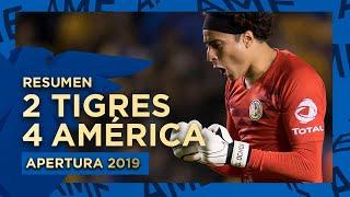 Resumen: Tigres 2-4 América - Cuartos De Final Vuelta | Apertura 2019