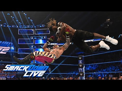 R-Truth vs. Rey Mysterio vs. Andrade - United States Title Match: SmackDown LIVE, Feb. 26, 2019