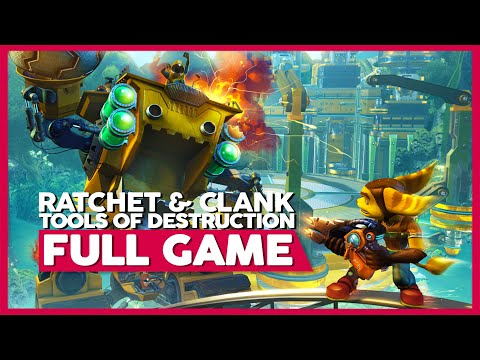 Ratchet and Clank Tools of Destruction | Full Playthrough (PS3 | HD | 60FPS | No Commentary)