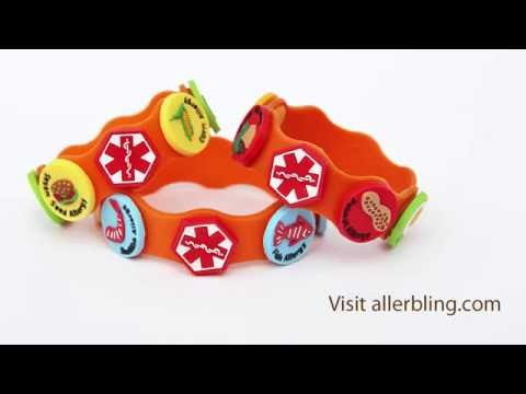 How to Attach Allergy Charms to the Allerbling Wristband