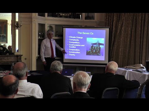 The EU, Britain and the Sea: Rear Admiral Chris Parry CBE