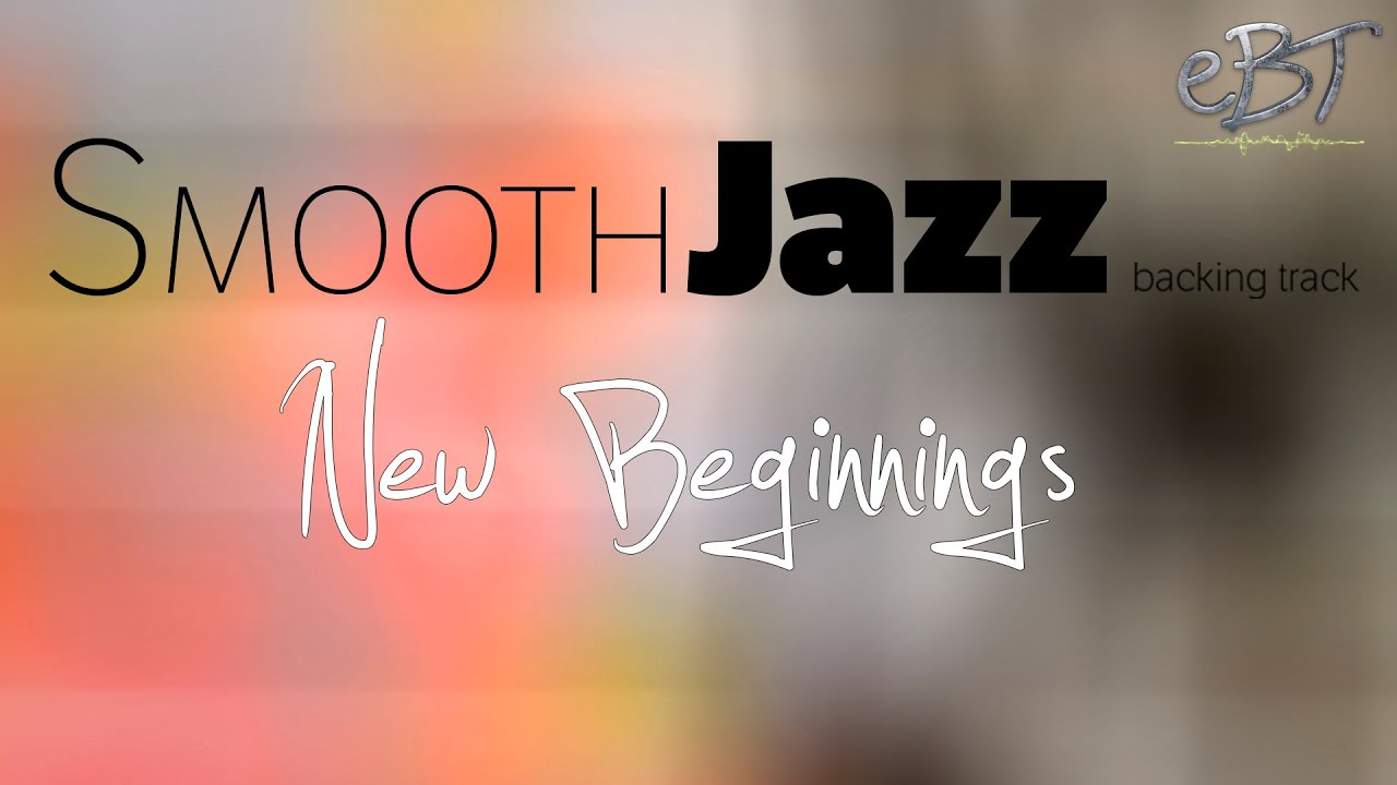 Smooth Jazz Backing Track in A Major | 60 bpm
