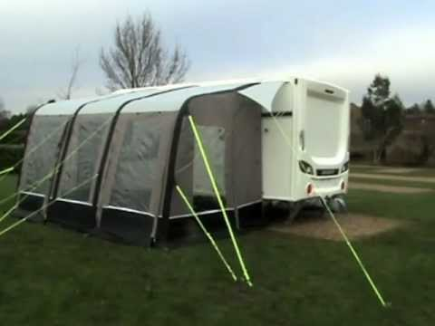 Sunncamp Air Volution Ultima Air Inflatable Awning Youtube