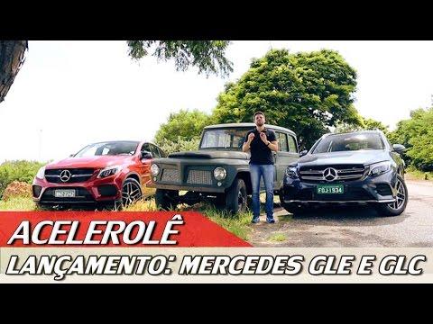LANÇAMENTO MERCEDES-BENZ GLE E GLC - ACELEROLÊ #1   ACELERADOS