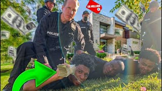 LAST ONE TO GET ARRESTED IN THE MANSION GETS $10,000! *EXTREME CHALLENGE*