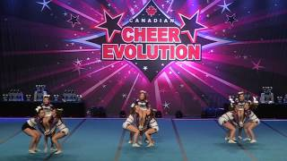 Cheer Evolution Quebec Championships February 18, 2017 Centre de Co...