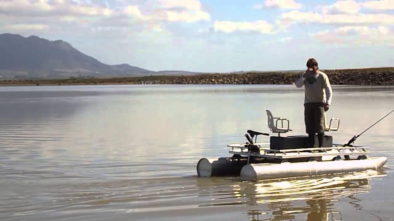Fishing pontoon boat youtube for Best fishing pontoon boat