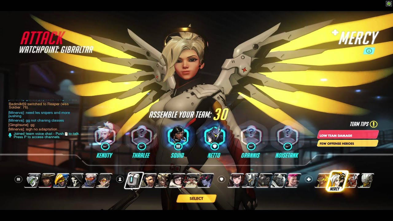Overwatch all Support Classes Beta Play - YouTube
