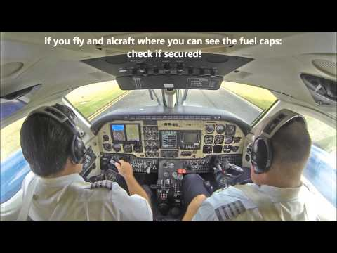 King Air B100 IFR departure - fire warning!