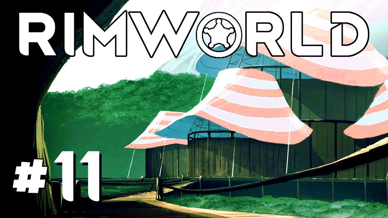 Things from Space! – Ep  11 – RimWorld Beta 18 Gameplay