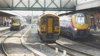 Passenger Trains @ Nottingham.....23-06-14
