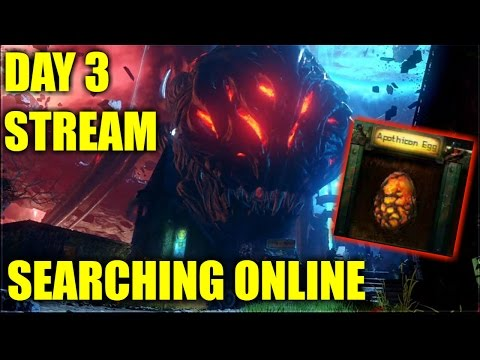 REVELATIONS - DAY 3 EASTER EGG STREAM - SEARCHING ONLINE/OFFLINE - Black Ops 3 DLC 4