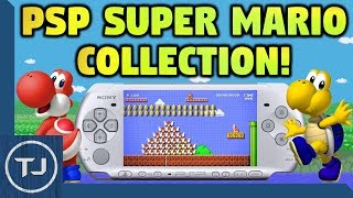 PSP Super Mario Collection! (Custom EBOOT Game!)