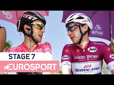Giro d'Italia 2018 | Stage 7 Highlights | Cycling | Eurosport