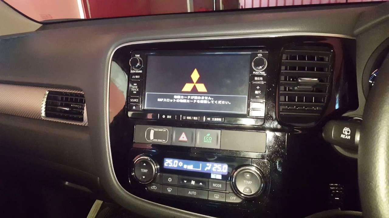 Mitsubishi outlander stereo upgrade