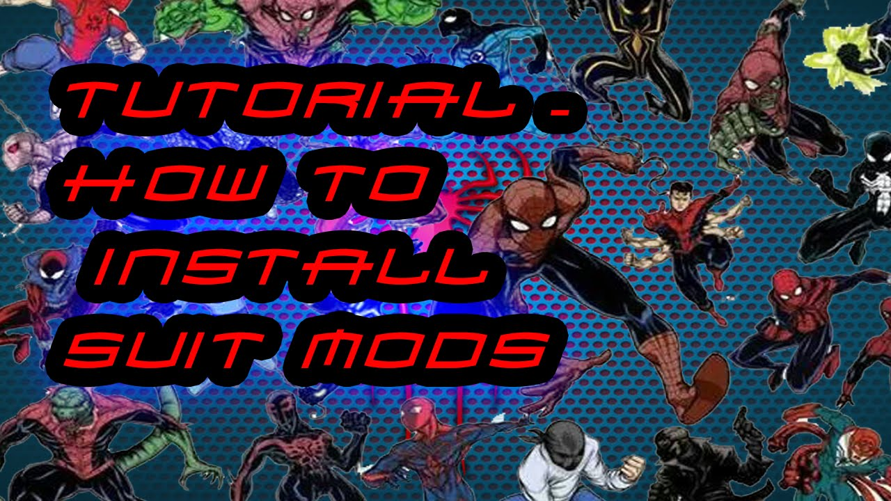 How to Install Spiderman Mods - Tutorial - The Amazing Spiderman 2 (PC)