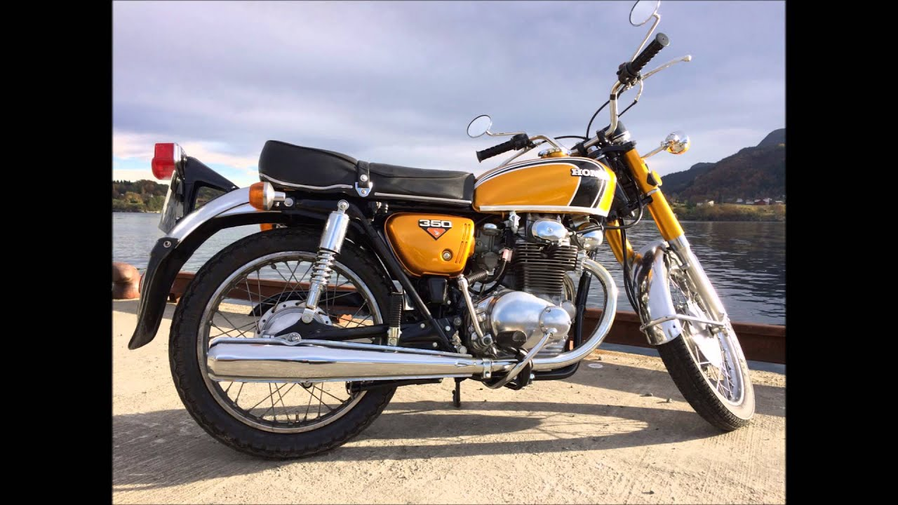 Honda Cb350 K4 Twin Candy Gold Project
