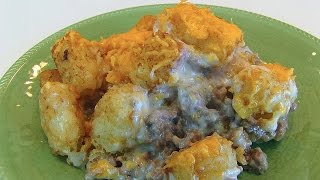 Betty's Ground Beef Tater Tot Casserole