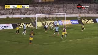 Черно море 1-0 Ботев (Пд)////Фейсал Касми в 18-ата минута.