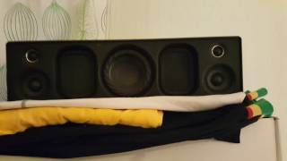 sONY SRS X9 sound quality is insane! And bass too!