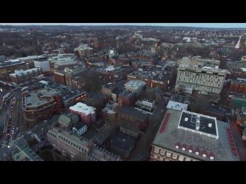 Harvard University - Aerial View 4K