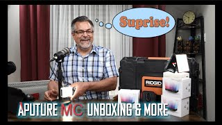 Aputure MC unboxing and Sidus Link Application!