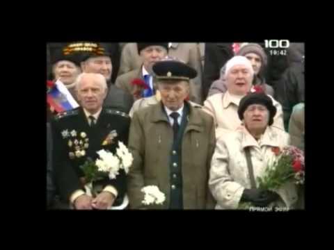 Den Pobedy - Victory Parade Russian Red Army Leningrado 2014