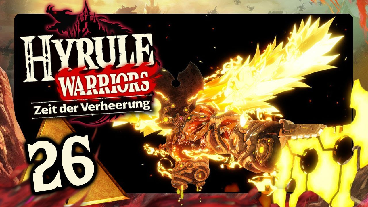 Hyrule Warriors Zeit Der Verheerung 26 Zukunfts Yunobo Daruk Vs Ganons Feuerfluch Youtube