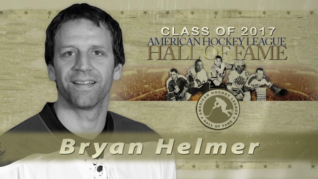 Ahl Hall Of Fame Bryan Helmer 2017 Youtube