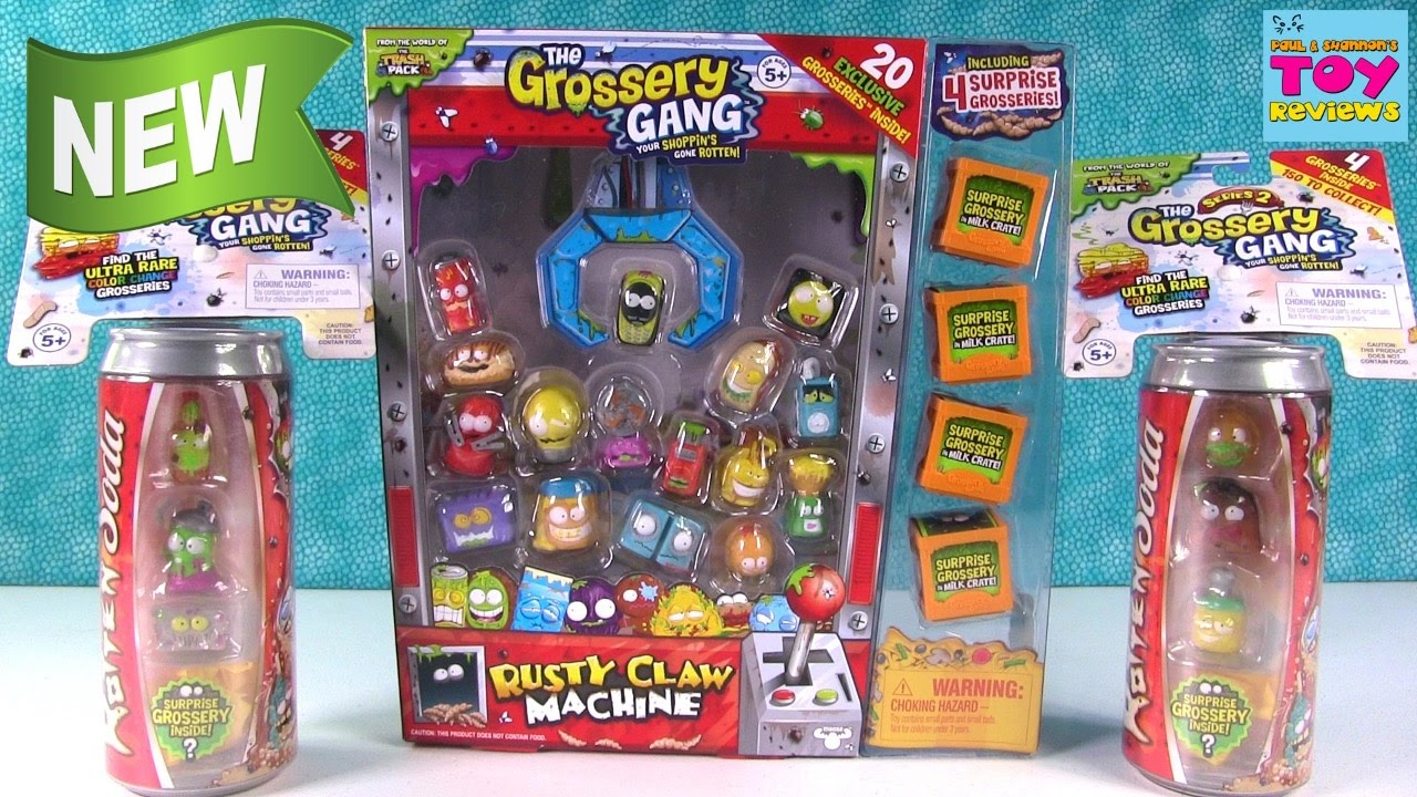 The Grossery Gang Rusty Claw Machine Rotten Soda Toy