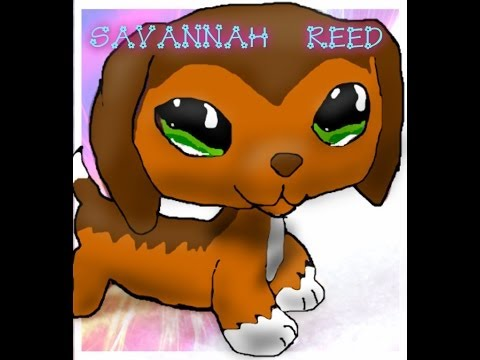 Lps Popular Speed Paint Savannah Reed With Pizap