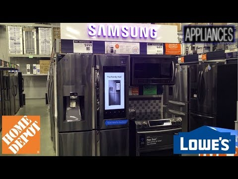 Shopping For Kitchen Range Hood & Microwave At Home Depot & Lowe's