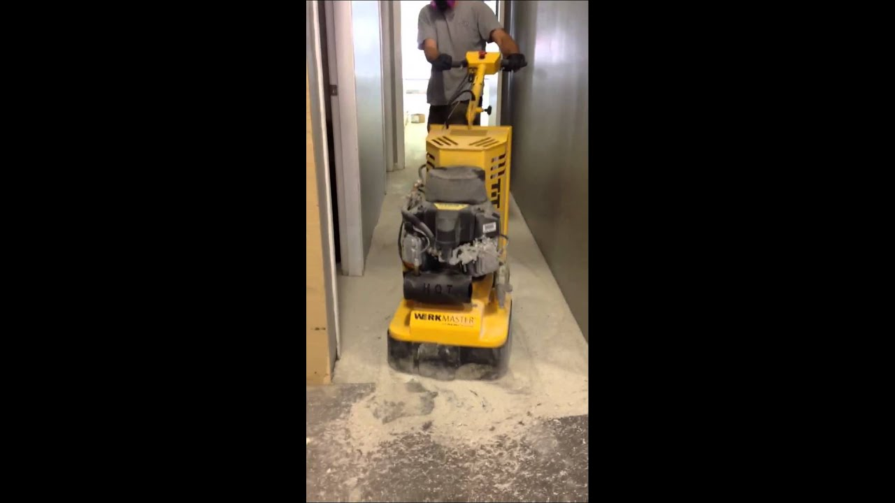 Removing Vct Tile Amp Blackout Cut Back Glue In One Pass