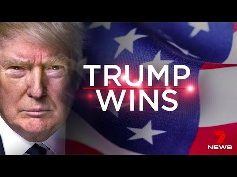 Donald Trump wins 2016 US Presidential election