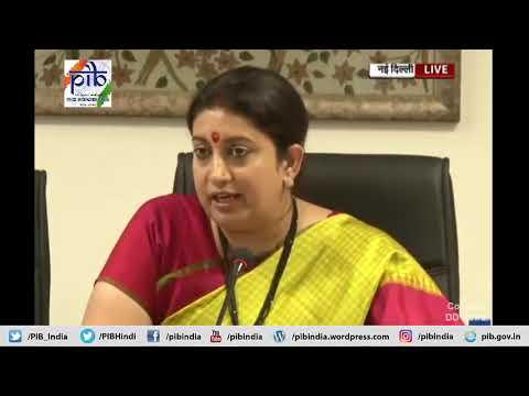 Union Textile Minister Speaks on the cabinet decisions for the Development of Silk Industry