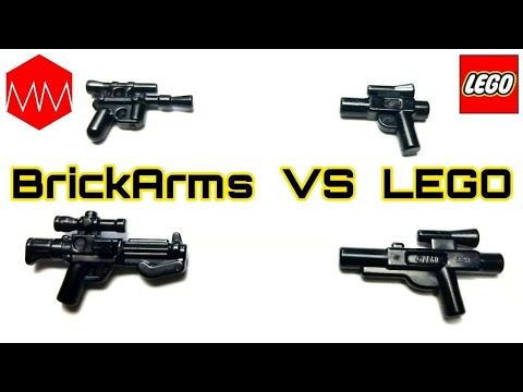 ▲ Realistic LEGO Star Wars Blasters For Minifigs! // BrickArms Blaster Pack Review