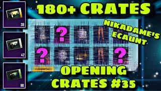 180+ Crates 🎁 NikaDeme-ს ექაუნთზე 🎁 ის დავაგდეთ რაც უნდოდა 🎁 OPENING #35 🎁