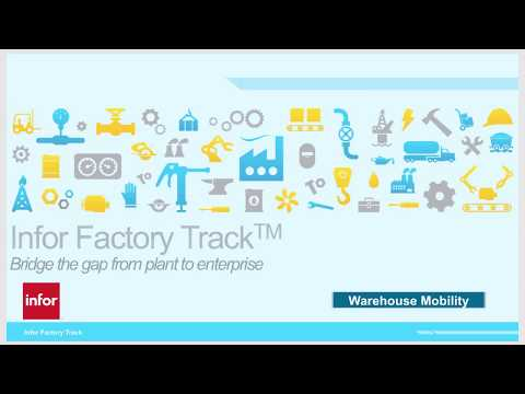 Infor Factory Track Warehouse Mobility