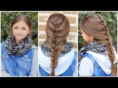 twist braid combo cute hairstyles