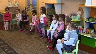 Підсумкове заняття за І півріччя в молодшій групі № 3, ДНЗ № 295