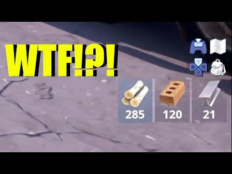 Fortnite Cant Mine More Than 500? New Material CAP In Fortnite Wood, Brick, & Metal