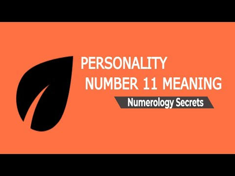 Numerology Personality Number 11 Meaning - Numerology Secrets Of Personality Number 11!