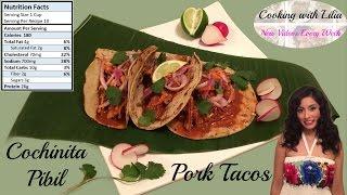 Cochinita Pibil Recipe - Slow Cooker Pork -  Pulled Pork Tacos -  How to make Cochinita Pibil