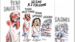 Sisma, morti come lasagne: bufera sulla vignetta di Charlie Hebdo