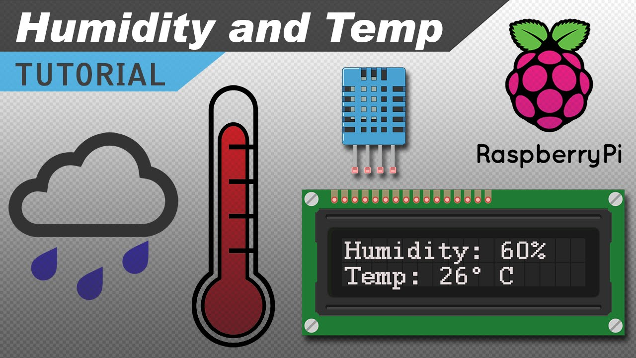 How To Set Up The Dht11 Humidity Sensor On Raspberry Pi Youtube For Digital Thermometer Electronic Circuit Collection Basics