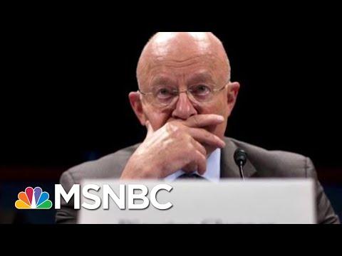 James Clapper Russia Assessment Calls Donald Trump Legitimacy Into Question   Rachel Maddow   MSNBC
