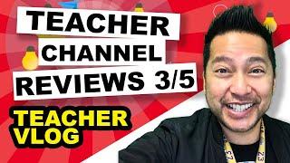 TEACHER CHANNEL REVIEWS - Classroom Teacher Blog